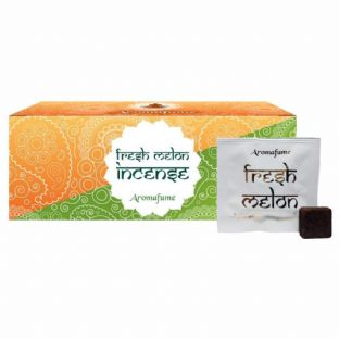 Aromafume Box of 18 Individually Wrapped Incense Bricks... FRESH MELON